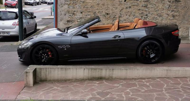 Maserati Gran Cabrio MASERATI GRANCABRIO SPORT 4.7 v8 460cv AUTOMATIQUE Gris occasion à Saint-maur-des-fossés - photo n°4