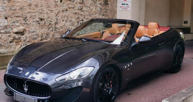Maserati Gran Cabrio MASERATI GRANCABRIO SPORT 4.7 v8 460cv AUTOMATIQUE Gris occasion à Saint-maur-des-fossés