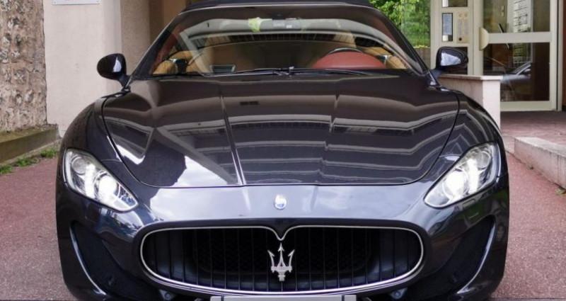 Maserati Gran Cabrio MASERATI GRANCABRIO SPORT 4.7 v8 460cv AUTOMATIQUE Gris occasion à Saint-maur-des-fossés - photo n°2
