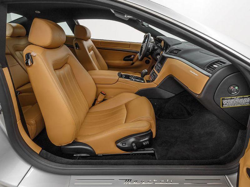 Maserati Gran Turismo 4.2 V8 405 ch Gris occasion à BEAUPUY - photo n°4