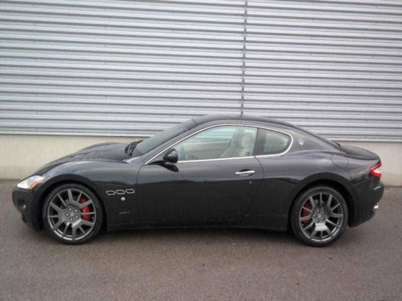 Maserati Gran Turismo 4.2 V8 405 ch Noir occasion à BEAUPUY - photo n°7