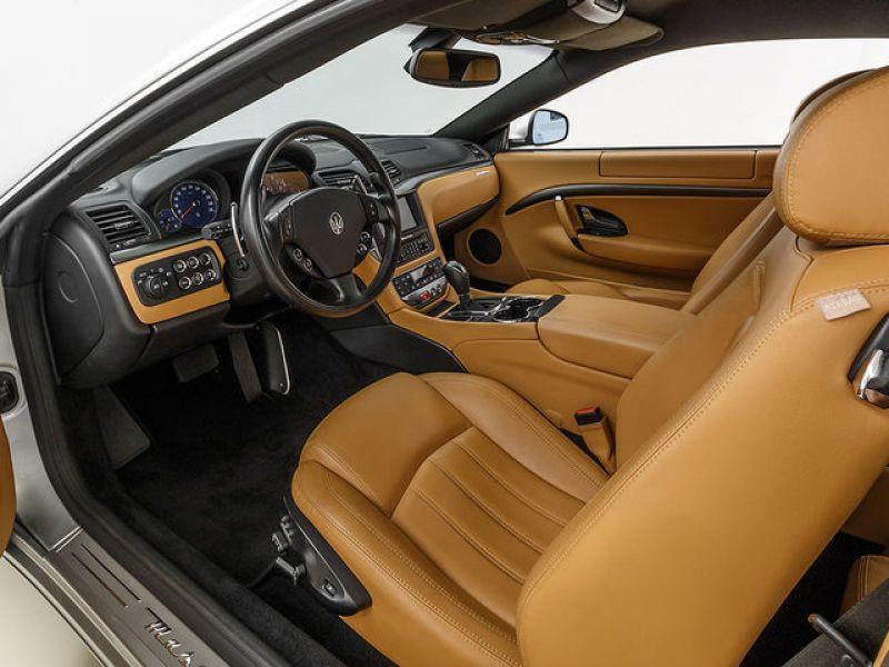 Maserati Gran Turismo 4.2 V8 405 ch Gris occasion à BEAUPUY - photo n°3