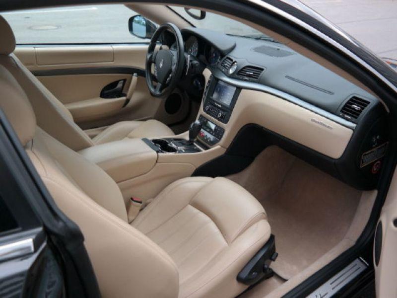 Maserati Gran Turismo 4.2 V8 405 ch Noir occasion à BEAUPUY - photo n°6