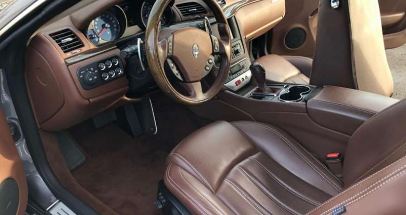 Maserati Gran Turismo 4.2 V8 405 Gris occasion à LEXY - photo n°7