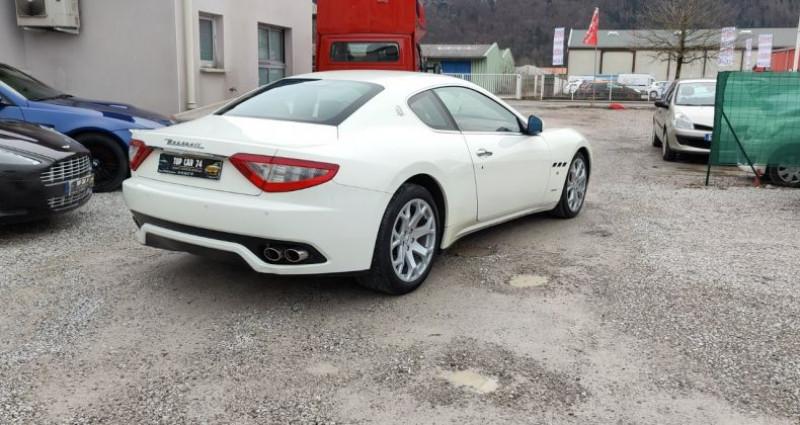 Maserati Gran Turismo 4.7 S V8 Blanc occasion à BONNEVILLE - photo n°4