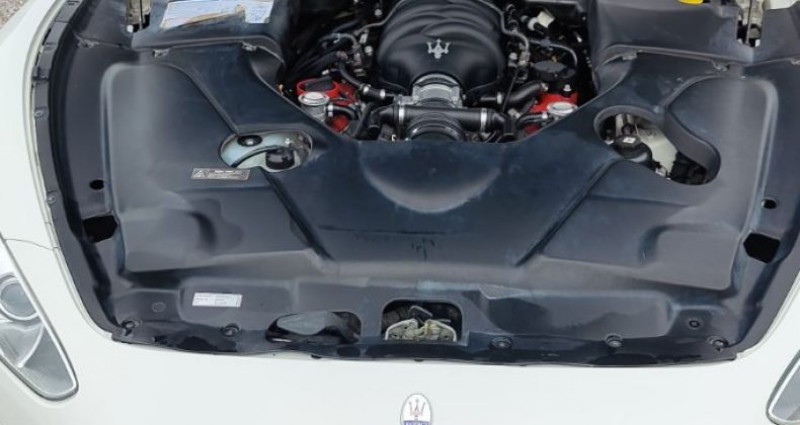 Maserati Gran Turismo 4.7 S V8 Blanc occasion à BONNEVILLE - photo n°7