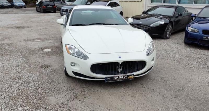 Maserati Gran Turismo 4.7 S V8 Blanc occasion à BONNEVILLE - photo n°2