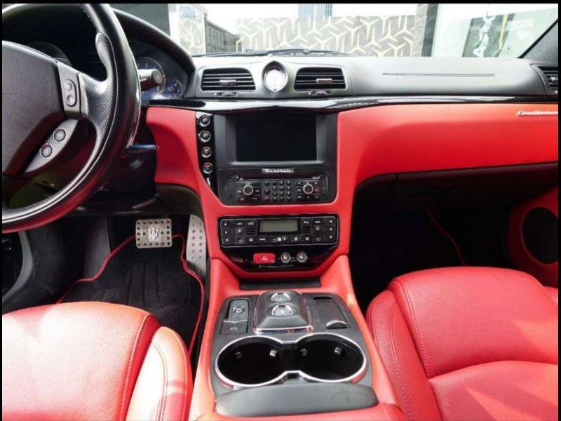 Maserati Gran Turismo 4.7 V8 MC STRADALE 460 ch Noir occasion à BEAUPUY - photo n°5