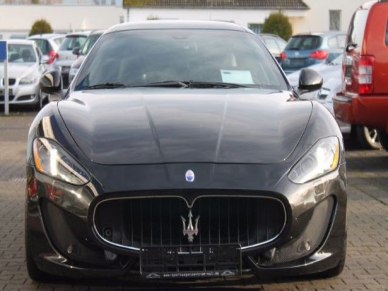 Maserati Gran Turismo 4.7 V8 S 440 ch Noir occasion à BEAUPUY - photo n°6