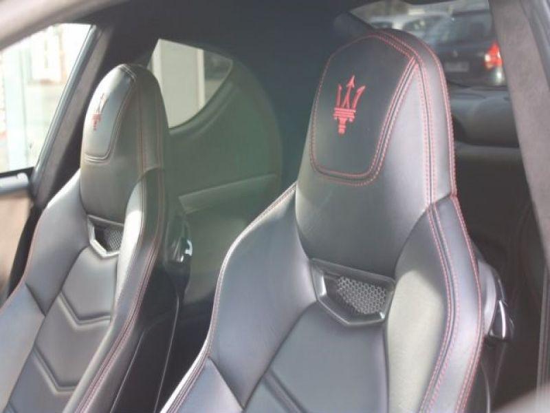 Maserati Gran Turismo 4.7 V8 S 440 ch Noir occasion à BEAUPUY - photo n°3