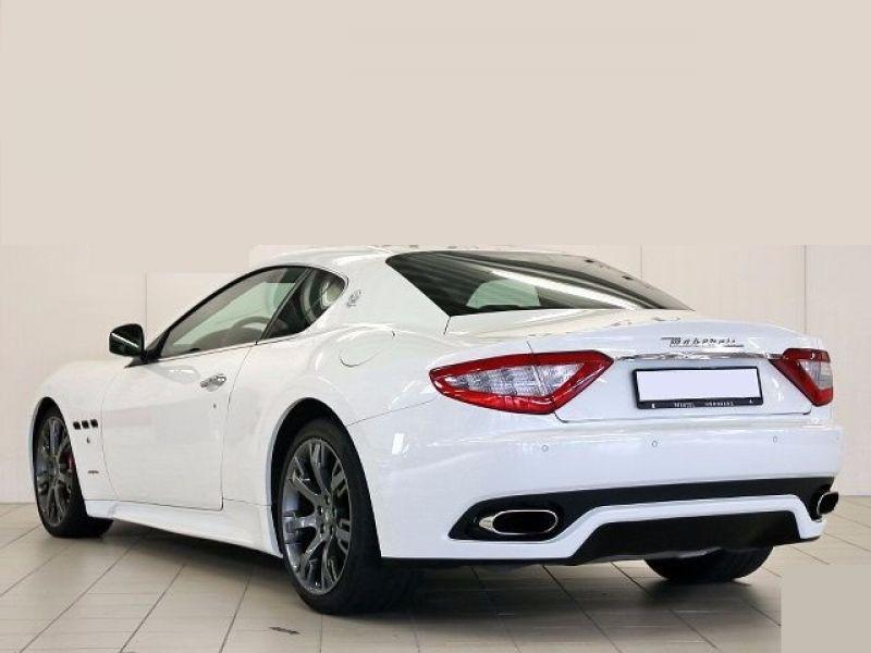 Maserati Gran Turismo 4.7 V8 S 440 ch Blanc occasion à BEAUPUY - photo n°2