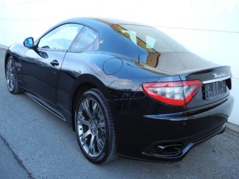 Maserati Gran Turismo 4.7 V8 S 460 ch Noir occasion à BEAUPUY - photo n°2