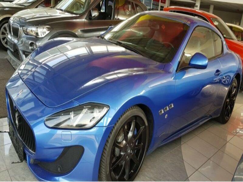 Maserati Gran Turismo 4.7 V8 S 460 ch Bleu occasion à BEAUPUY