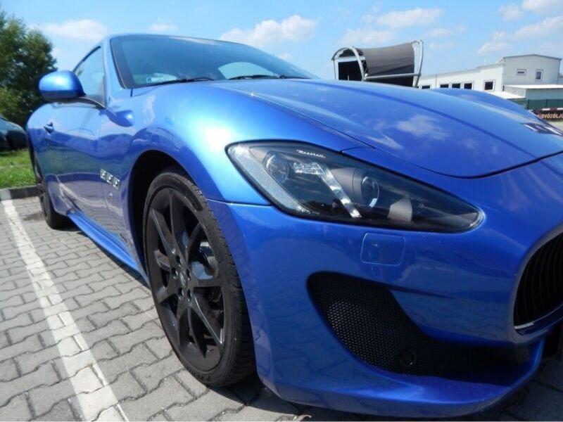Maserati Gran Turismo 4.7 V8 S 460 ch Bleu occasion à BEAUPUY - photo n°8