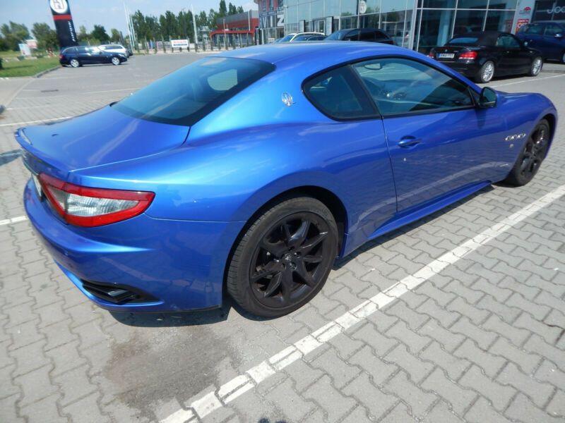Maserati Gran Turismo 4.7 V8 S 460 ch Bleu occasion à BEAUPUY - photo n°3