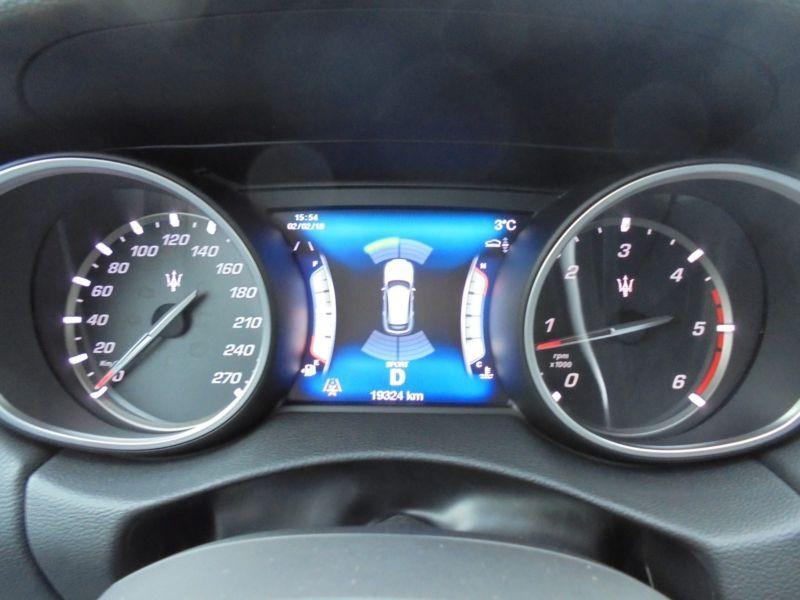 Maserati Levante 3.0 D V6 275 Bleu occasion à BEAUPUY - photo n°6