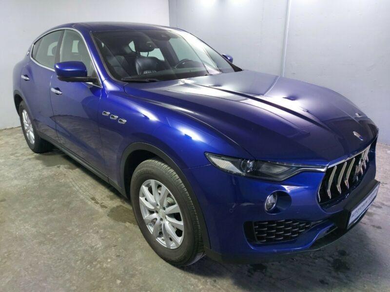 Maserati Levante 3.0 V6 275CH DIESEL Bleu occasion à Villenave-d'Ornon - photo n°4