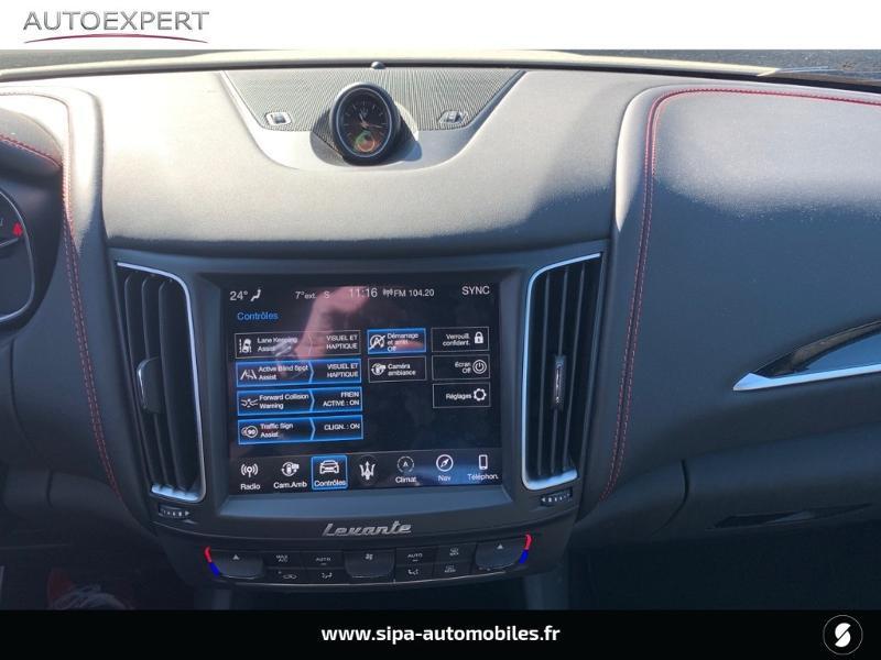 Maserati Levante 3.0 V6 350ch Q4 GranSport 270g 26CV Blanc occasion à Mérignac - photo n°20