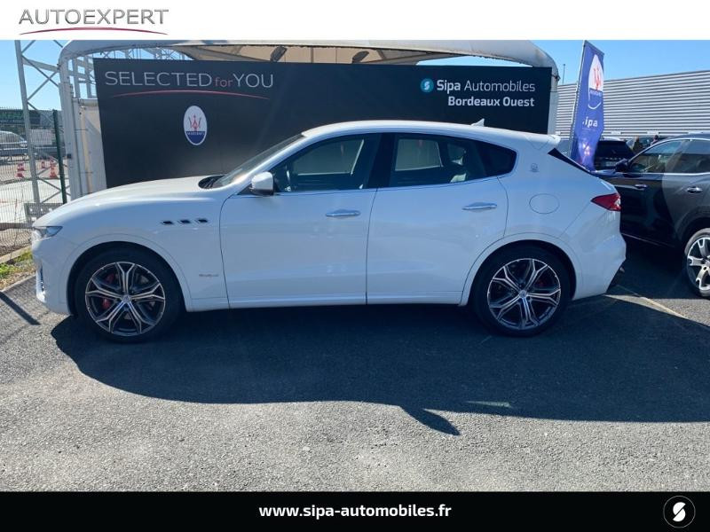 Maserati Levante 3.0 V6 350ch Q4 GranSport 270g 26CV Blanc occasion à Mérignac - photo n°3