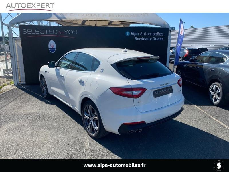 Maserati Levante 3.0 V6 350ch Q4 GranSport 270g 26CV Blanc occasion à Mérignac - photo n°4