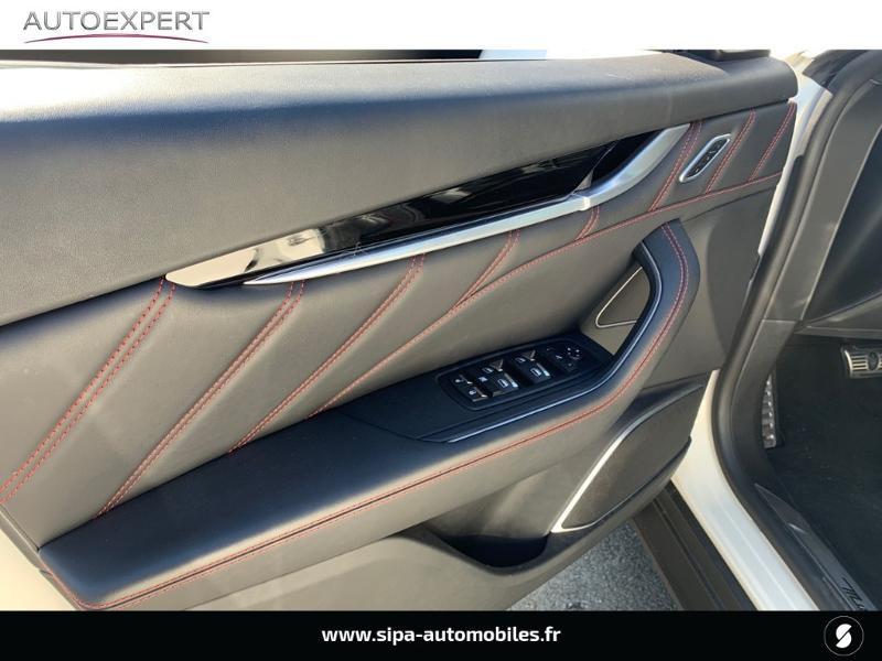 Maserati Levante 3.0 V6 350ch Q4 GranSport 270g 26CV Blanc occasion à Mérignac - photo n°12