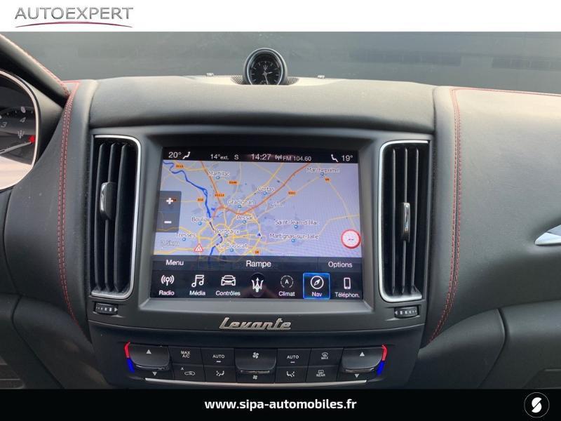 Maserati Levante 3.0 V6 350ch Q4 GranSport 270g Noir occasion à Mérignac - photo n°19