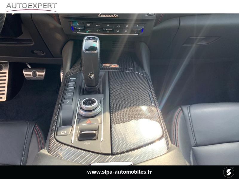 Maserati Levante 3.0 V6 350ch Q4 GranSport 270g Noir occasion à Mérignac - photo n°17