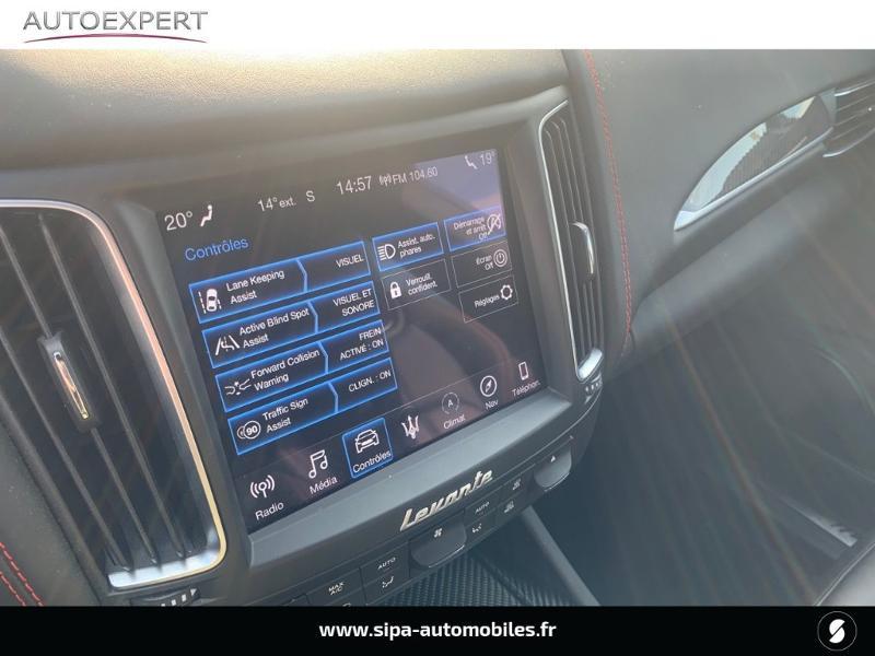 Maserati Levante 3.0 V6 350ch Q4 GranSport 270g Noir occasion à Mérignac - photo n°20