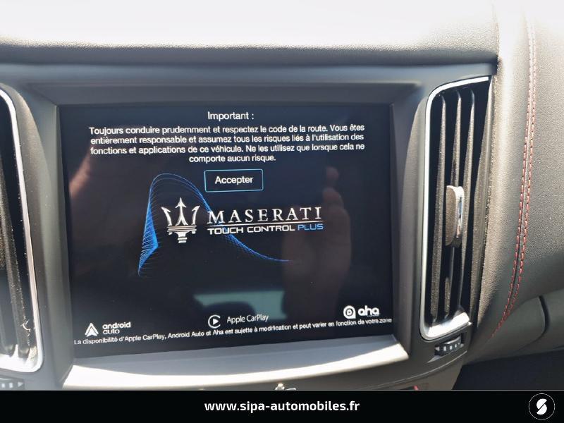 Maserati Levante 3.0 V6 350ch Q4 GranSport Gris occasion à Mérignac - photo n°5
