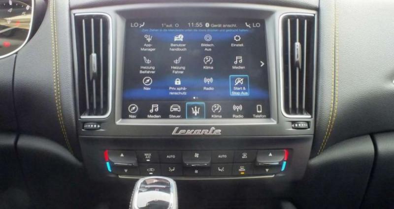 Maserati Levante 3.0 V6 430ch S Q4 GranSport Full Options/ Malus & Carte Gris Noir occasion à Mudaison - photo n°4