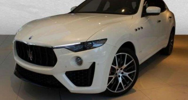 Maserati Levante 3.0 V6 430ch S Q4 GranSport Full Options/ Malus & Carte Gris Blanc occasion à Mudaison