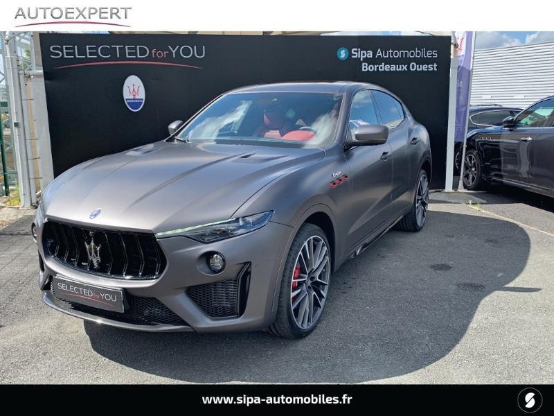 Maserati Levante 3.8 V8 580ch Trofeo Gris occasion à Mérignac