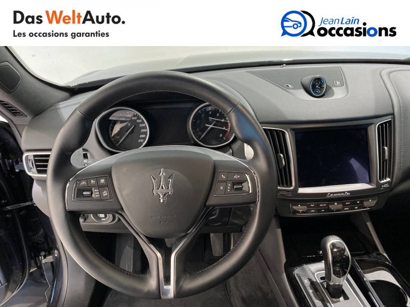 Maserati Levante Levante 3.0 V6 Bi-Turbo 350 Q4  5p Noir occasion à Albertville - photo n°12