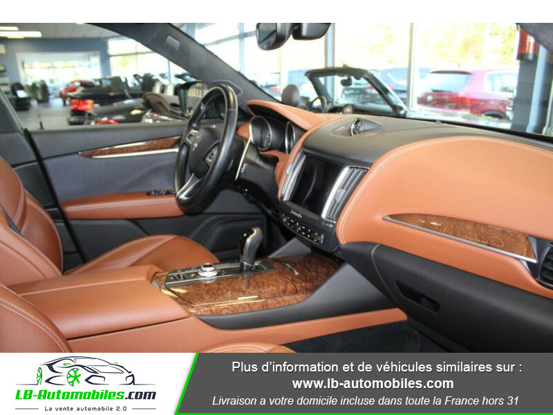 Maserati Levante S Q4 430ch Gris occasion à Beaupuy - photo n°9