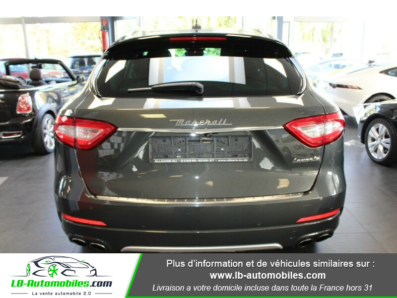 Maserati Levante S Q4 430ch Gris occasion à Beaupuy - photo n°11