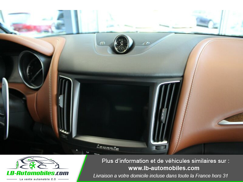 Maserati Levante S Q4 430ch Gris occasion à Beaupuy - photo n°8