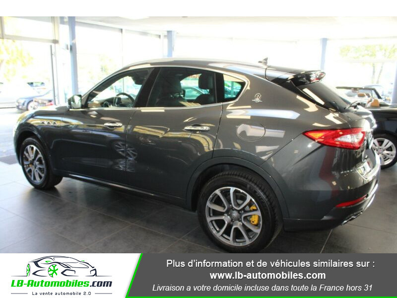 Maserati Levante S Q4 430ch Gris occasion à Beaupuy - photo n°12