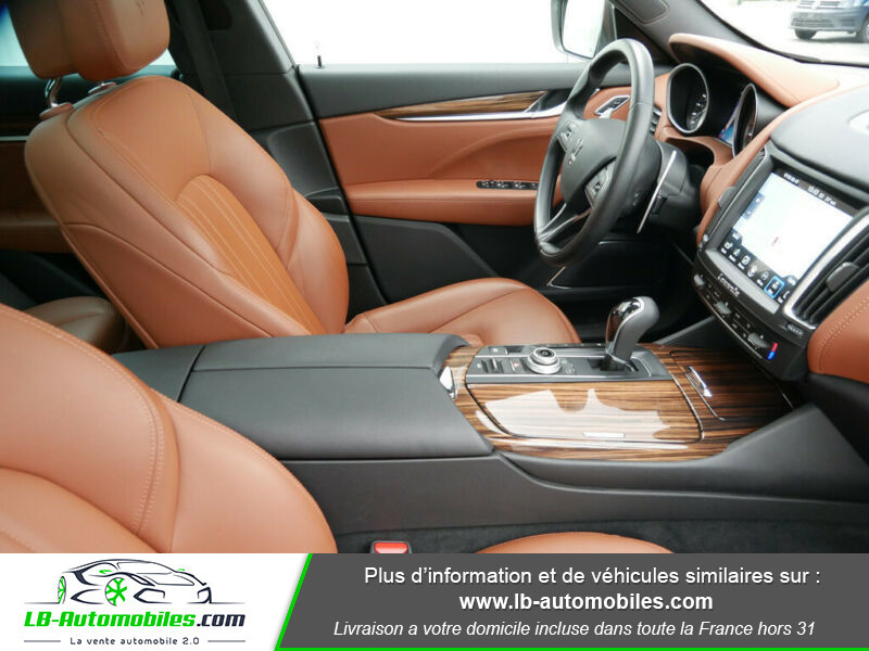 Maserati Levante S Q4 430ch Gris occasion à Beaupuy - photo n°15
