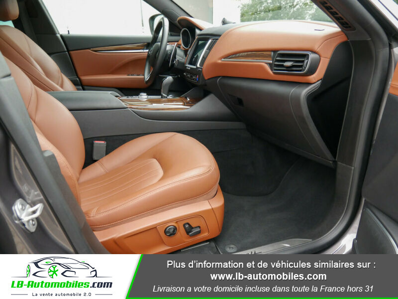 Maserati Levante S Q4 430ch Gris occasion à Beaupuy - photo n°5