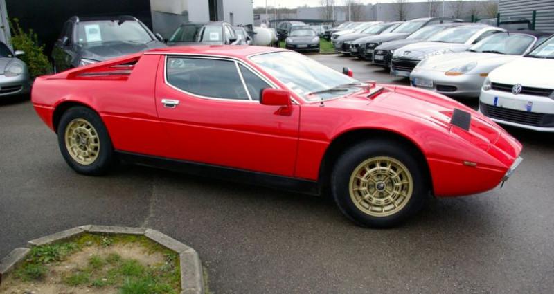 Maserati Merak SS 220ch Rouge occasion à SAINT MAXIMUM - photo n°5