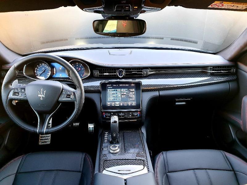 Maserati Quattroporte 3.0 V6 430ch Start/Stop S Q4 GranSport 276g Noir occasion à Mérignac - photo n°5