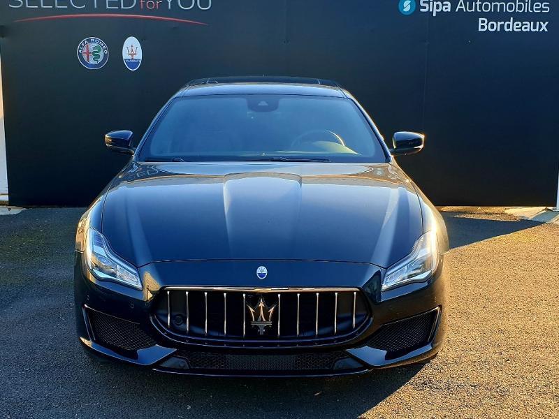 Maserati Quattroporte 3.0 V6 430ch Start/Stop S Q4 GranSport 276g Noir occasion à Mérignac - photo n°2