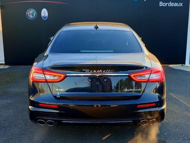 Maserati Quattroporte 3.0 V6 430ch Start/Stop S Q4 GranSport 276g Noir occasion à Mérignac - photo n°4