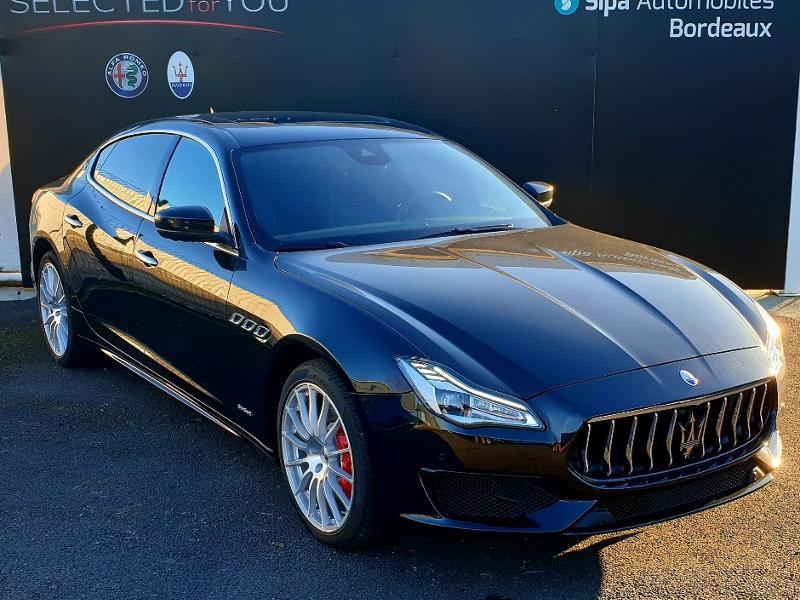 Maserati Quattroporte 3.0 V6 430ch Start/Stop S Q4 GranSport 276g Noir occasion à Mérignac