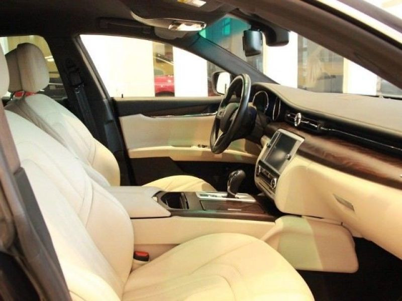 Maserati Quattroporte 3.0 V6 D 275 Noir occasion à BEAUPUY - photo n°4
