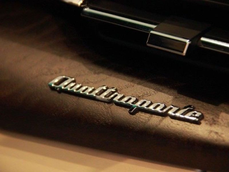 Maserati Quattroporte 3.0 V6 D 275 Noir occasion à BEAUPUY - photo n°7
