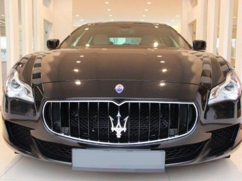 Maserati Quattroporte 3.0 V6 D 275 Noir occasion à BEAUPUY - photo n°8