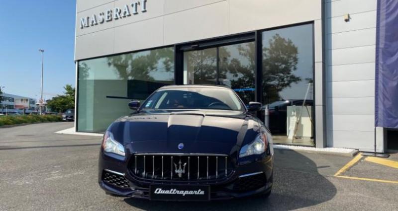 Maserati Quattroporte 3.8 V8 530ch Start/Stop GTS Bleu occasion à Orléans - photo n°2