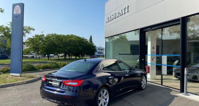 Maserati Quattroporte 3.8 V8 530ch Start/Stop GTS Bleu occasion à Orléans - photo n°5