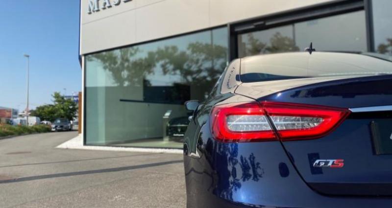 Maserati Quattroporte 3.8 V8 530ch Start/Stop GTS Bleu occasion à Orléans - photo n°4